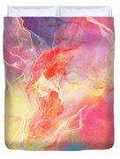 Lighthearted - Abstract Art Duvet Cover