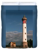 Lighthouse At Ouistreham Duvet Cover