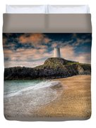 Lighthouse Beach Duvet Cover