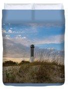 Lighthouse Dunes Duvet Cover
