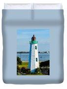 Lighthouse Hdr Duvet Cover