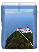 Lighthouse In The Sky Duvet Cover