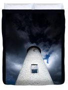 Lighthouse On Boblo Island Duvet Cover