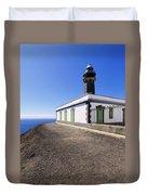 Lighthouse On Hierro Duvet Cover
