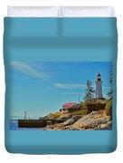 Lighthouse Park Duvet Cover