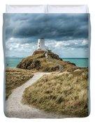 Lighthouse Path Duvet Cover