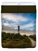 Lighthouse Pathway Duvet Cover