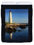 Lighthouse Reflected Duvet Cover