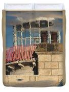 Lighthouse Reflection Duvet Cover