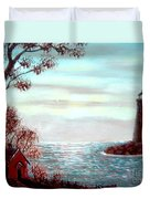 Lighthousekeepers Home Duvet Cover
