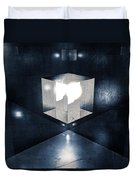 Lighting In Cube Duvet Cover
