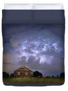 Lightning Thunderstorm Busting Out Duvet Cover
