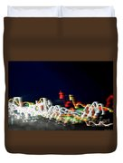 Lights In The Wind II Duvet Cover