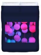 Lights Of Love Duvet Cover