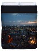 Lights Of San Antonio Tx  Duvet Cover