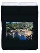 Liguria - Portofino Duvet Cover