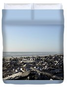 A Trees Boneyard Duvet Cover