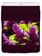 Lilac Bloom Duvet Cover