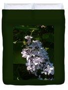 Lilac Branch Duvet Cover