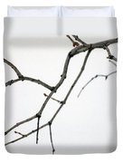 Lilac Branches Duvet Cover