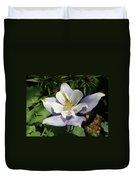 Lilac Columbine Duvet Cover