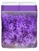 Lilac Fantasy Duvet Cover