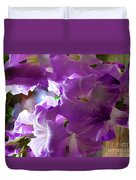 Lilac Flowers Duvet Cover