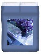 Lilac Glass Duvet Cover