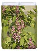 Lilac In Spring Duvet Cover