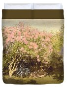 Lilac In The Sun, 1873 Duvet Cover