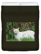 Lilac Point Siamese Cat Duvet Cover