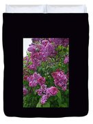 Lilacs At Hulda Klager Lilac Garden Duvet Cover