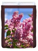Lilacs Duvet Cover by Elena Elisseeva