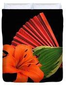 Lilies 2 Duvet Cover