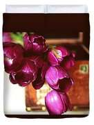 Lilies To Go Duvet Cover