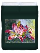 Lilies Twin Duvet Cover
