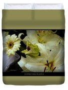 Lilium Casa Blanca Duvet Cover