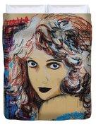 Lillian Gish Duvet Cover