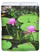 Lilly Pad In Hawaii Duvet Cover