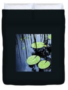 Lilly Pad Pond Duvet Cover