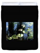 Lilly Pad Reflection Duvet Cover