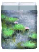 Water Lilly's  Duvet Cover