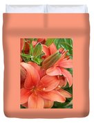 Lillys And Buds 3 Duvet Cover