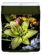 Lily Duvet Cover by Adrian Evans
