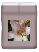 Lily After The Rain Duvet Cover