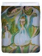 Lily Allegro Ballet Duvet Cover