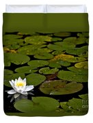 Lily And Pads Duvet Cover
