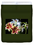 Lily Bouquet Duvet Cover