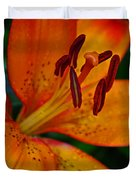 Lily Closeup Duvet Cover