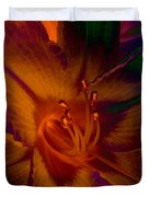 Lily Colors Duvet Cover